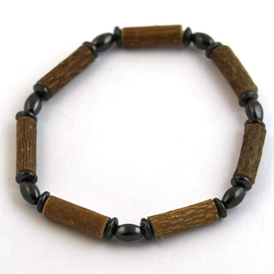Hazel-Magnetic Oval Hematite - 7 Bracelet - Hazelwood & Magnetic Jewelry