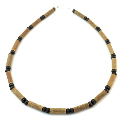 Hazelwood All Brown For Kids - 13.5 Necklace - Lobster Claw Clasp - Hazelwood Jewelry