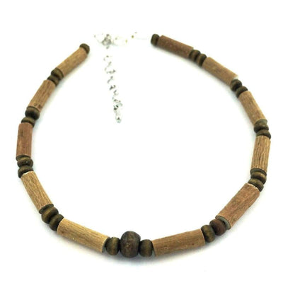 Hazelwood All Brown For Teens & Adults - 9.5-10.5 Adjustable Anklet - Hazelwood Jewelry