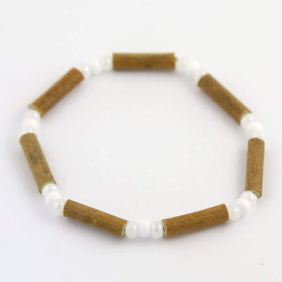 Hazelwood All White - 7 Bracelet - Hazelwood Jewelry