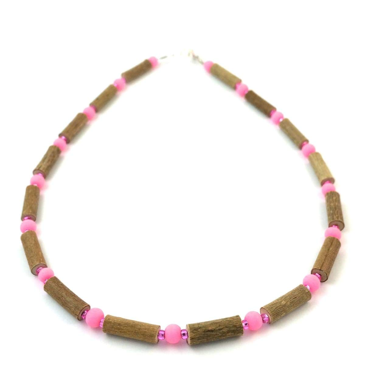 Hazelwood Hot Pink - 11 Necklace - Lobster Clasp - Hazelwood Jewelry