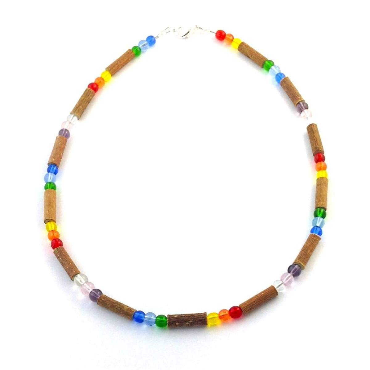 Hazelwood Rainbow - 11 Necklace - Lobster Claw Clasp - Hazelwood Jewelry