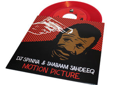 "Shabaam Sahdeeq - Motion Picture (Prod. by DJ Spinna) (Transparent Red Vinyl 7"")"