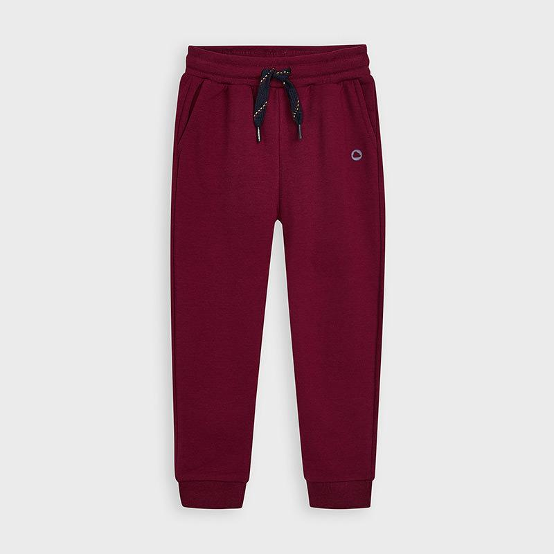 MAYORAL 725 BURGUNDY TRACKSUIT TROUSERS IN STOCK