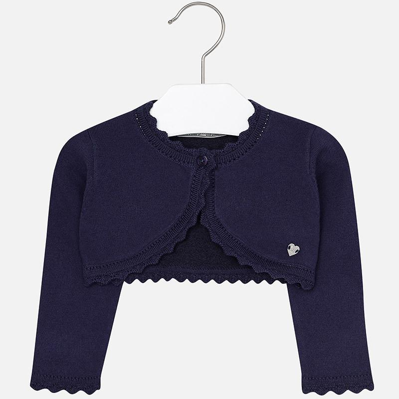 MAYORAL 308 NAVY BLUE LONG SLEEVE CARDIGAN