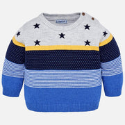 MAYORAL 2302 GOLD STARS AND STRIPE JUMPER IN STOCK
