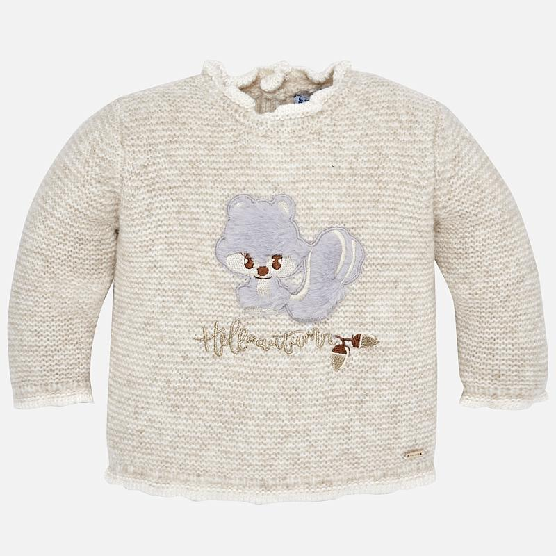 MAYORAL 2334 LINEN SQUIRREL JUMPER IN STOCK