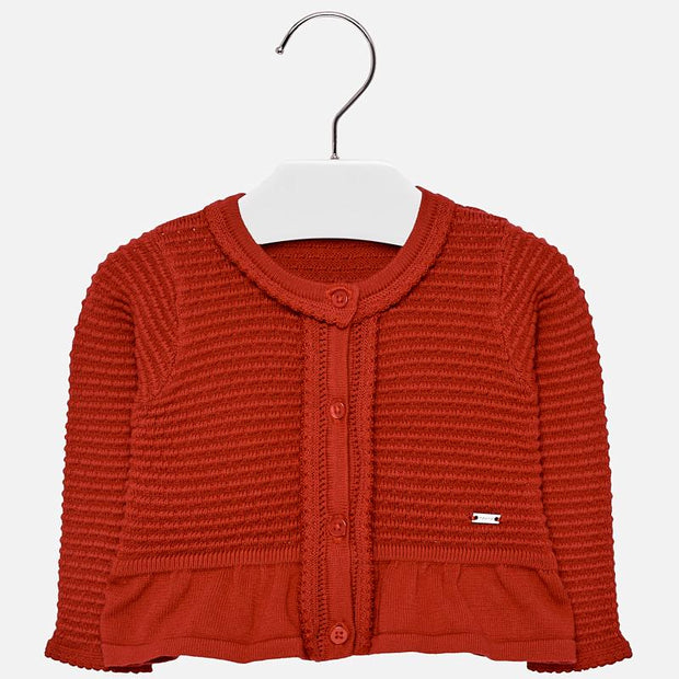 MAYORAL 2336 RED CARDIGAN IN STOCK