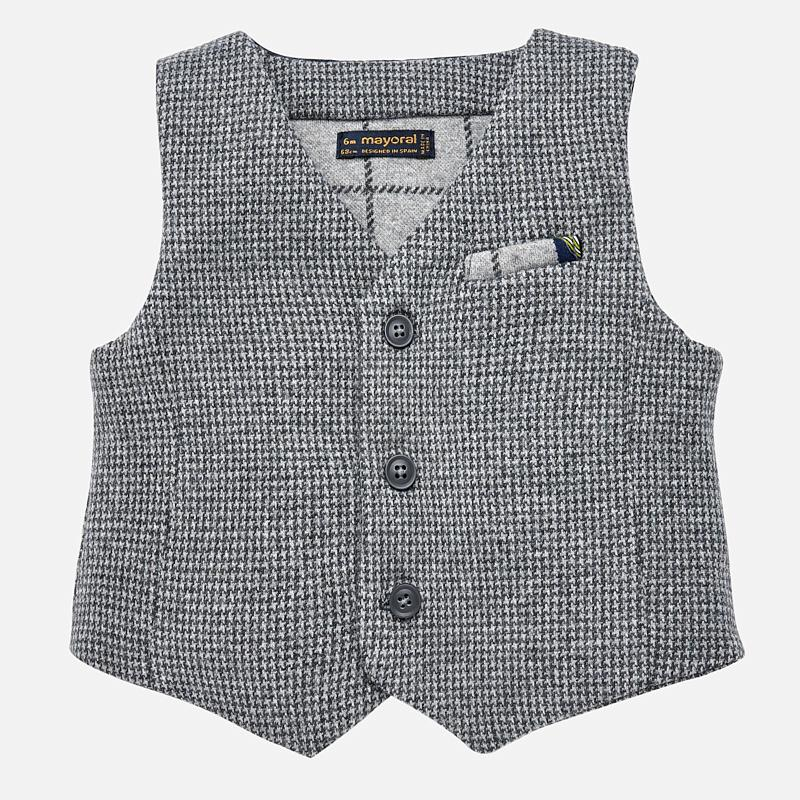 MAYORAL 2458 VYNIL FORMAL WAISTCOAT IN STOCK