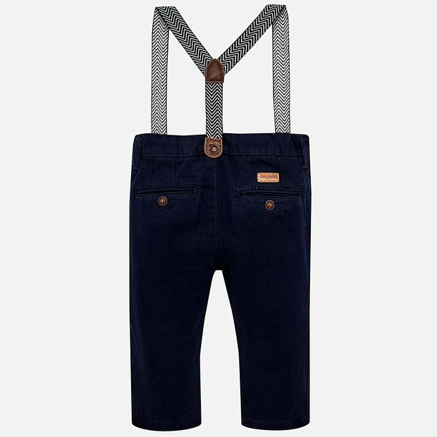 MAYORAL 2548 NAVY BLUE CHINO TROUSERS IN STOCK