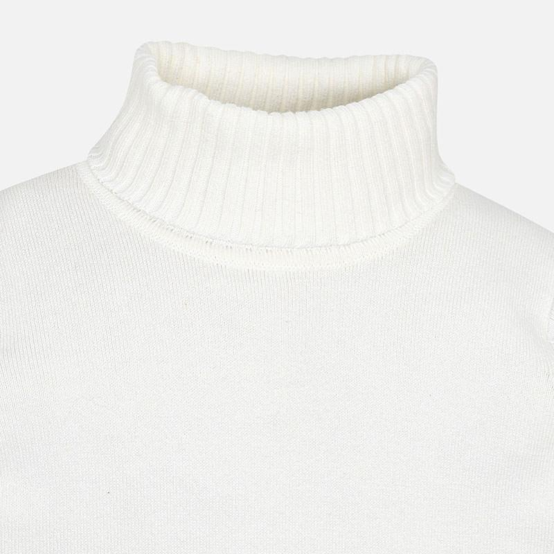 MAYORAL 313 CREAM POLO NECK JUMPER
