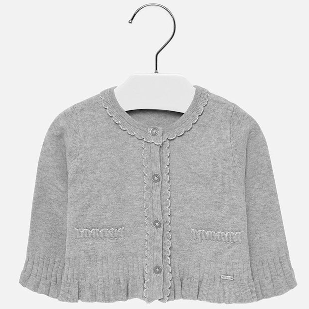 MAYORAL 2315 GREY CARDIGAN