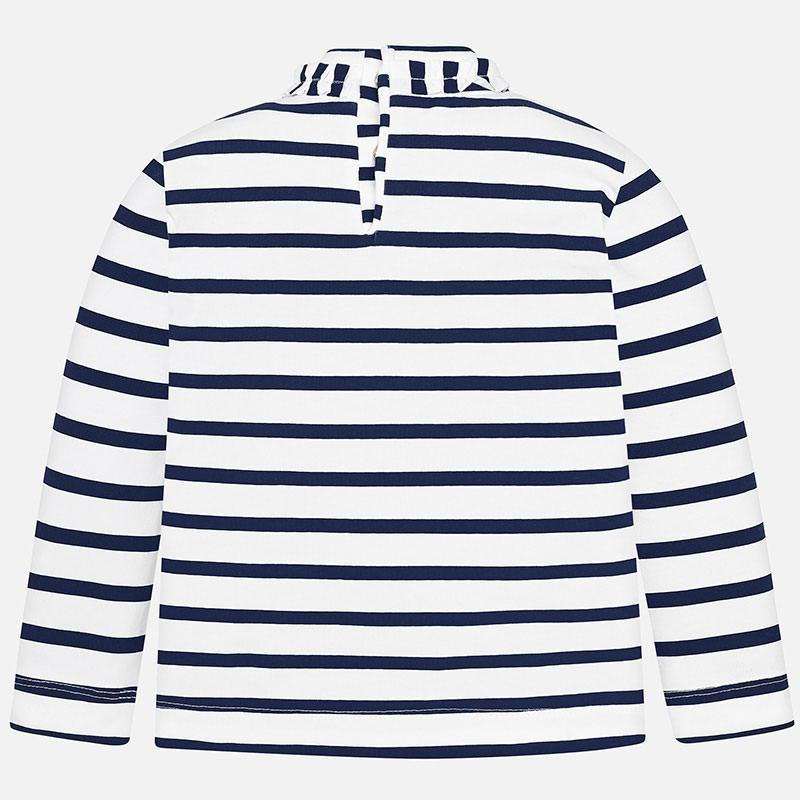 MAYORAL 4004 NAVY LONG SLEEVE TOP