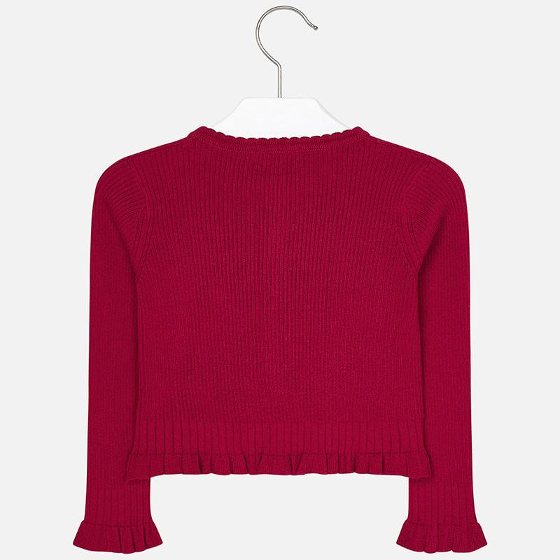MAYORAL 4305 RED CARDIGAN