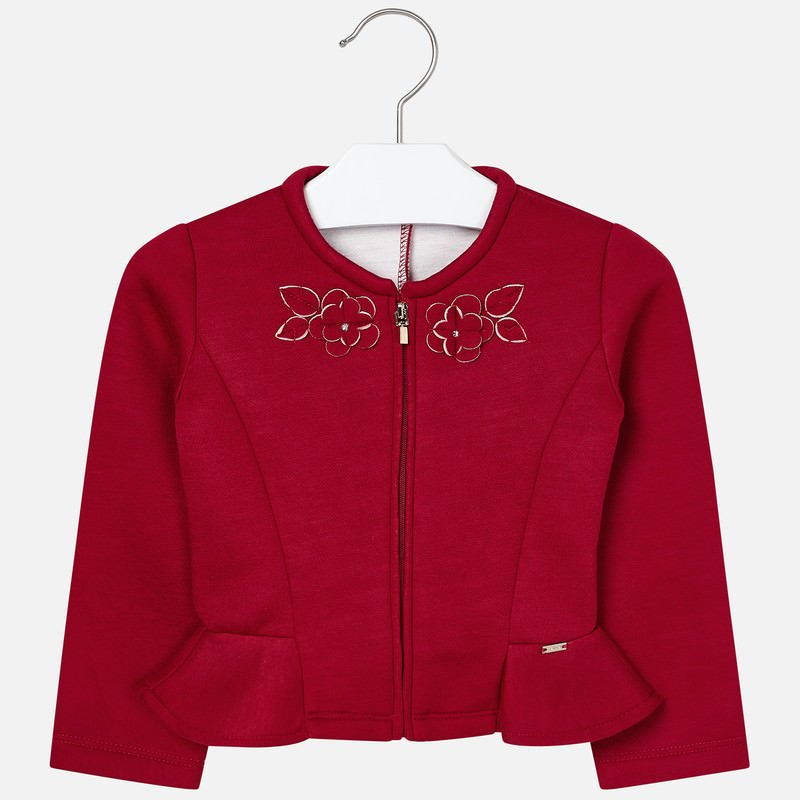 MAYORAL 4405 RED HIGH WAISTED JACKET