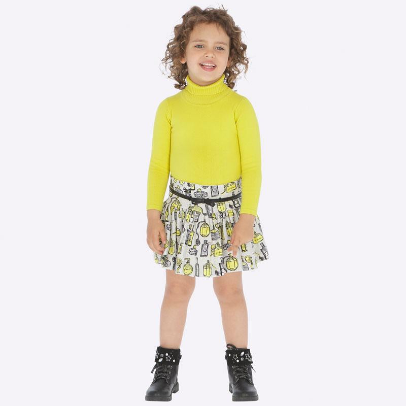MAYORAL 4905 YELLOW SKIRT