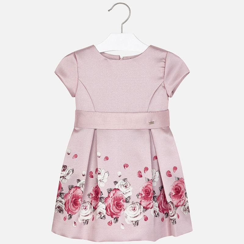 MAYORAL 4922 PINK ROSES DRESS