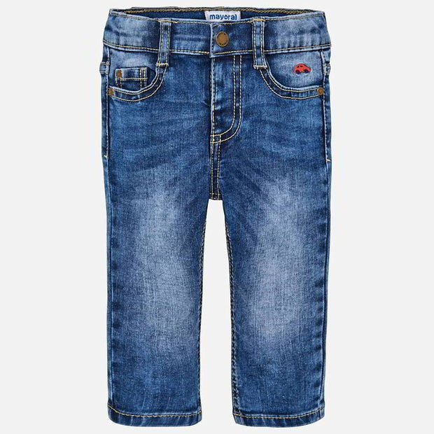 MAYORAL 503 DENIM SLIM FIT JEANS IN STOCK