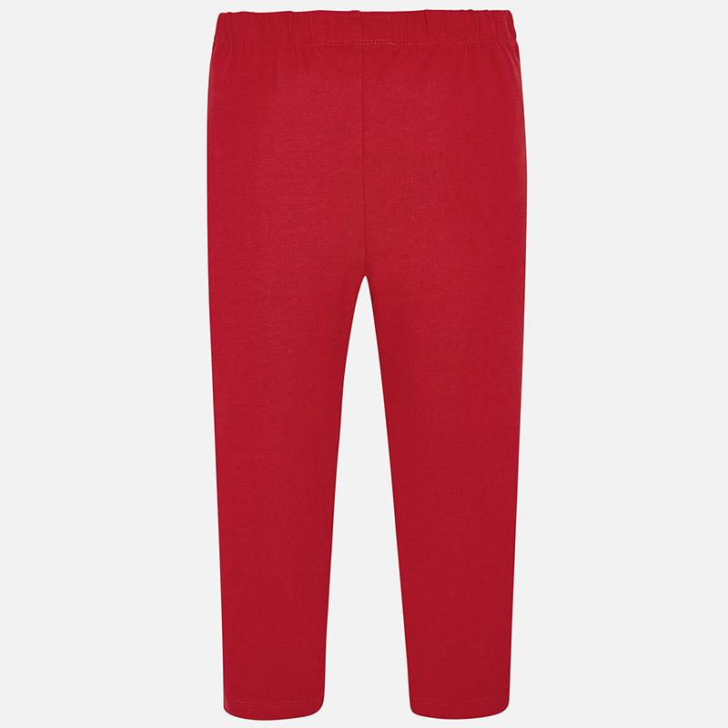 MAYORAL 748 RED LONG LEGGINGS IN STOCK