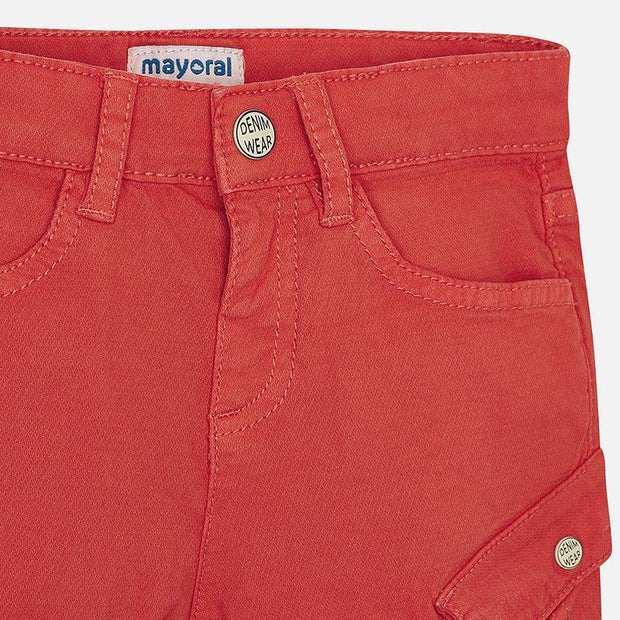 MAYORAL 3243 RED SHORTS IN STOCK