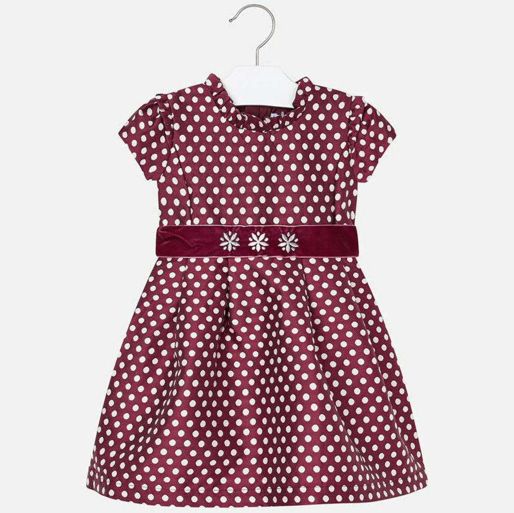 MAYORAL 4932 RUBY DOTS DRESS