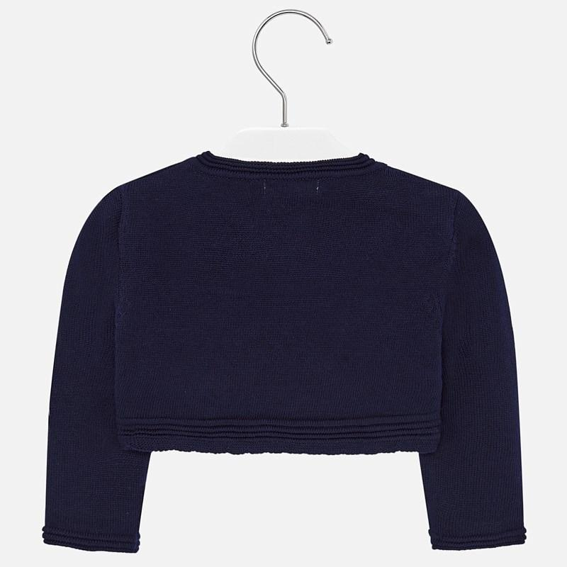 MAYORAL 1326 NAVY BLUE BOLERO CARDIGAN - Cherubs