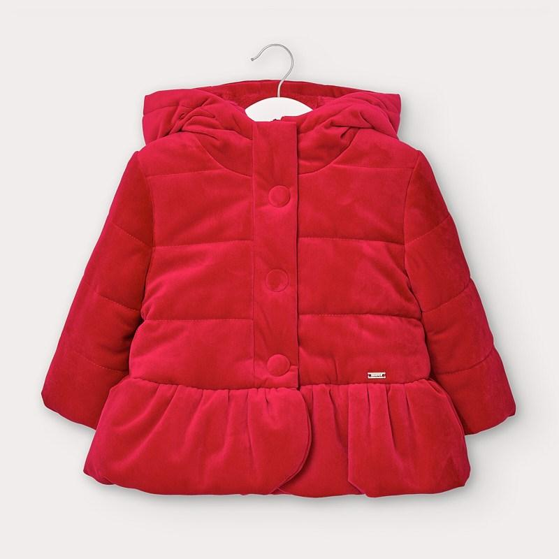 MAYORAL 2411 RED COAT - Cherubs