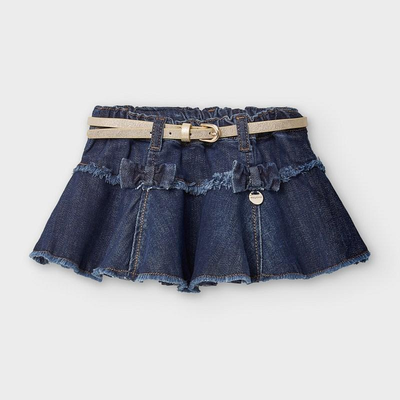 MAYORAL 2941 DENIM SKIRT - Cherubs