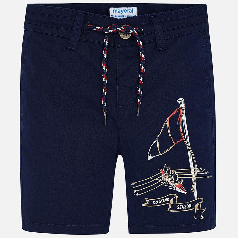 MAYORAL 3258 INDIGO SHORTS - Cherubs