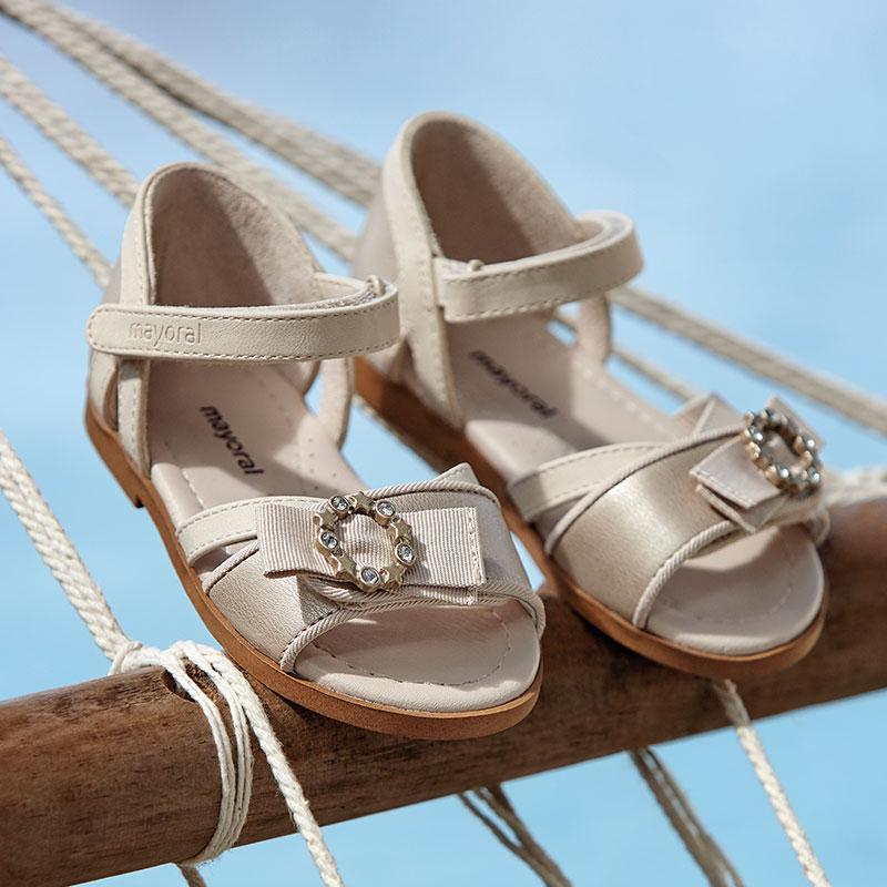 MAYORAL 41150 GOLDEN SANDALS - Cherubs