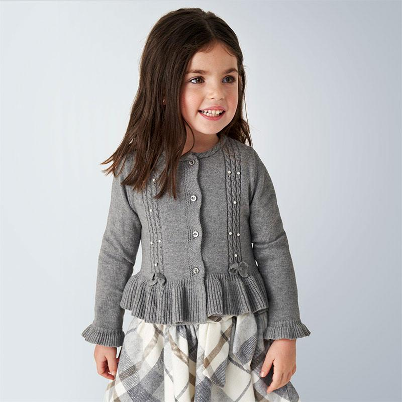 MAYORAL 4350 STEEL CARDIGAN - Cherubs