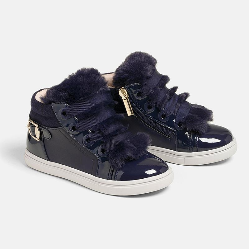 MAYORAL 44143 NAVY BLUE BOOT - Cherubs