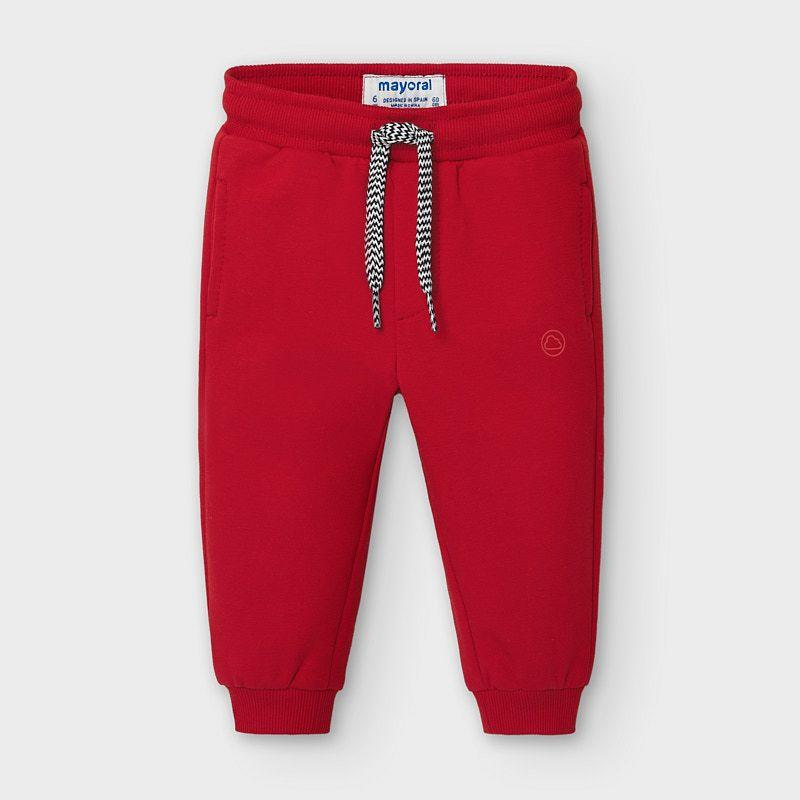 MAYORAL 704 RED TRACKSUIT TROUSERS - Cherubs