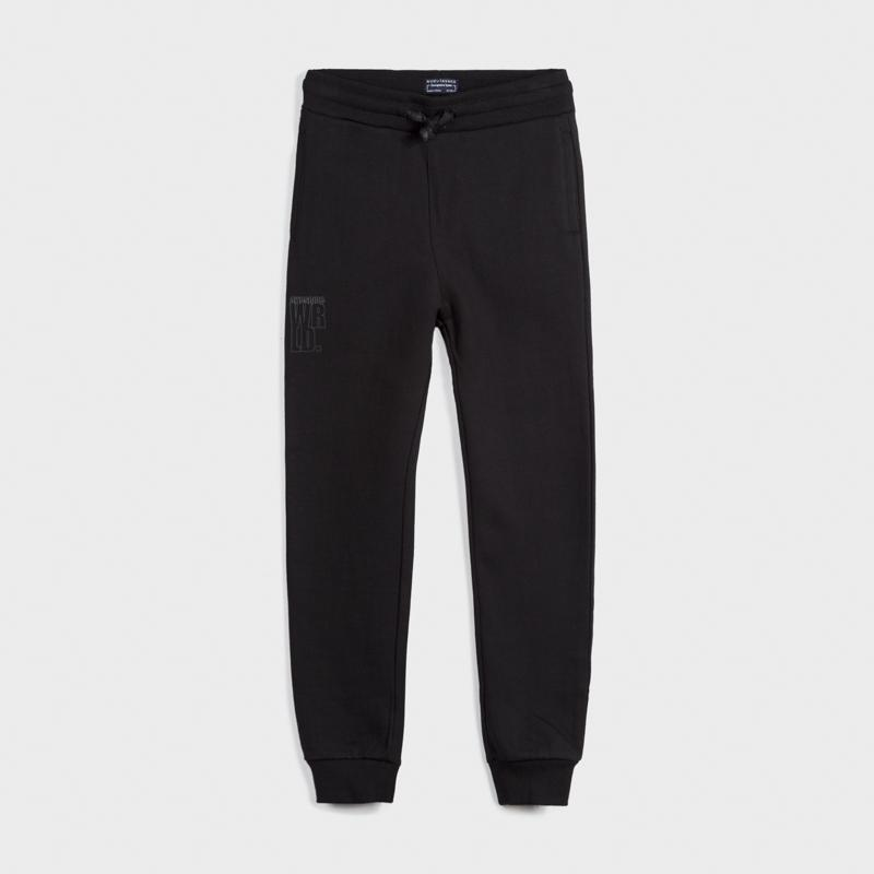 MAYORAL 705 BLACK TRACKSUIT BOTTOMS IN STOCK - Cherubs
