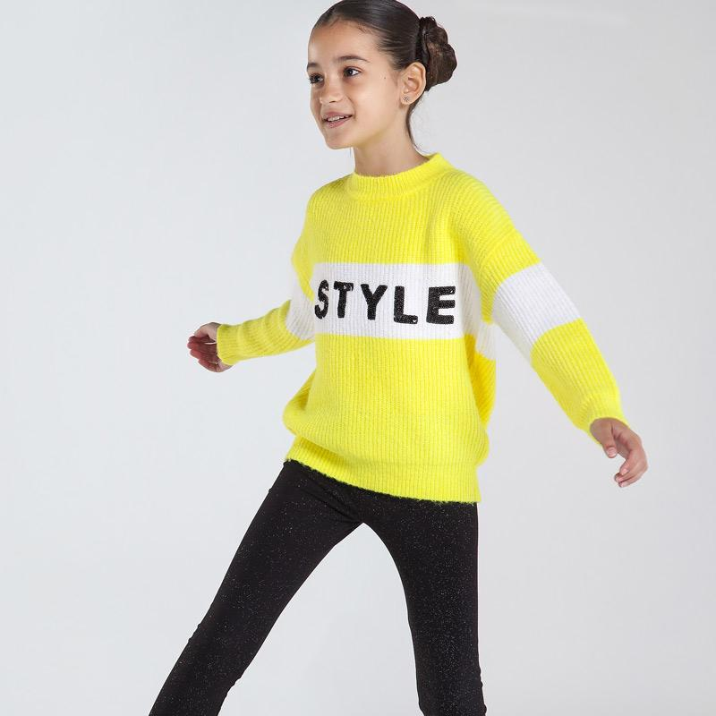 MAYORAL 7331 LIME JUMPER - Cherubs