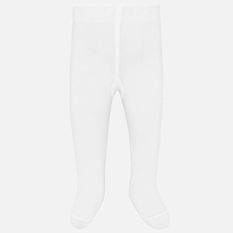 MAYORAL 9233 WHITE TIGHTS - Cherubs