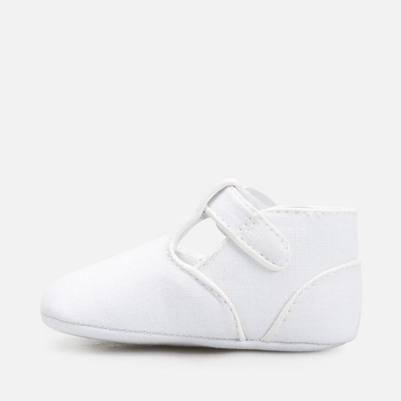 MAYORAL 9276 WHITE BABY SHOES - Cherubs
