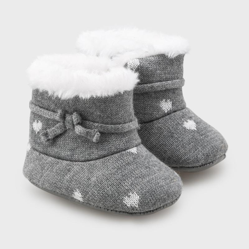 MAYORAL 9337 MOON KNIT BOOTS - Cherubs