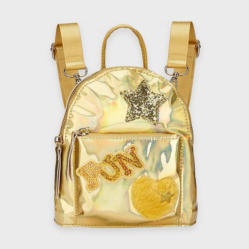 PRE-ORDER MAYORAL 10922 CHAMPAGNE BACKPACK - Cherubs