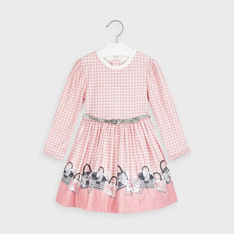 PRE-ORDER MAYORAL 4963 BLUSH DRESS - Cherubs