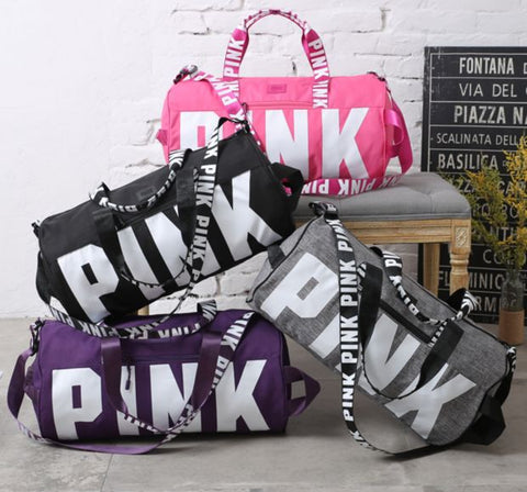 "Victoria's Secret ""Pink"" Women Sports And Fitness yoga Travel Bag"