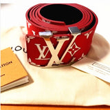 LV Supreme Leather Belt