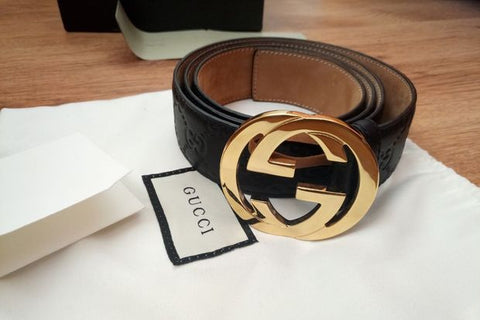 Authentic Gucci GG Belt