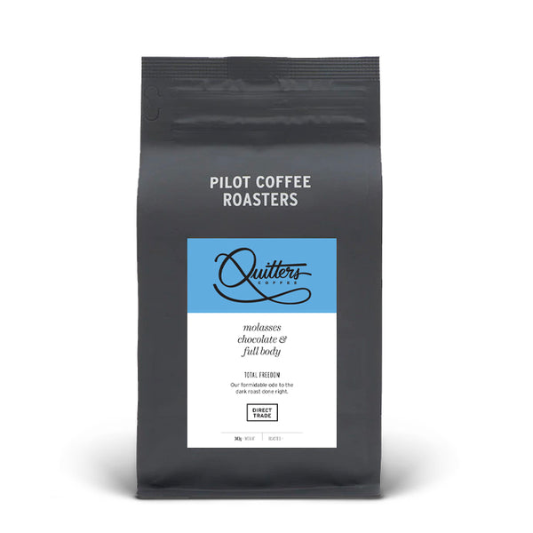 Quitters Coffee: Total Freedom Dark Roast