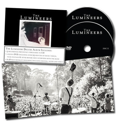 The Lumineers Deluxe Edition Cd Dvd Dualtone Music Group