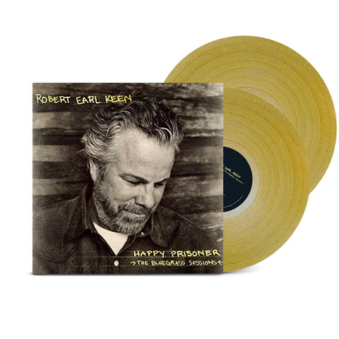 Happy Prisoner: The Bluegrass Sessions (Limited Edition Gold Vinyl)
