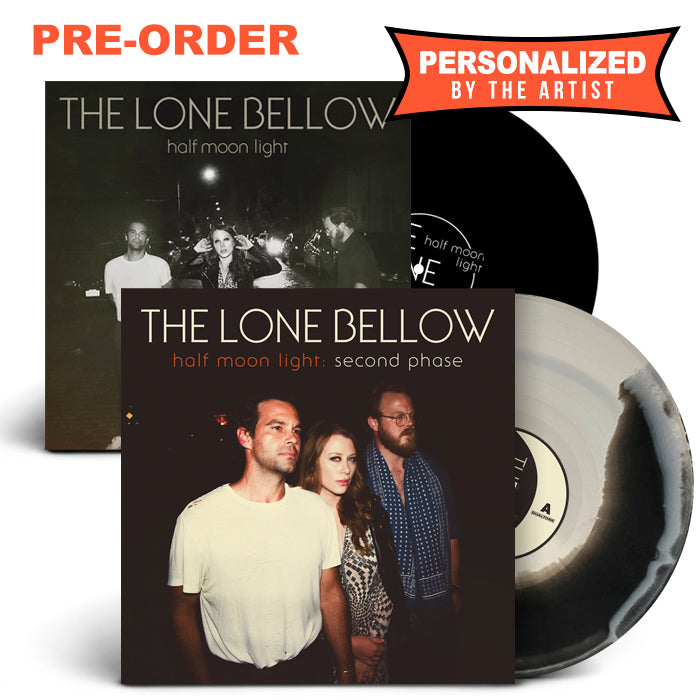 Half Moon Light + Second Phase (Personalized LP) [Pre-Order]