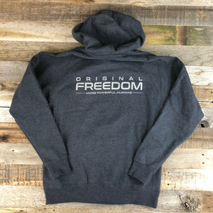 Original Freedom Hoodie- Navy Heather