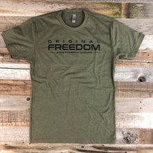Load image into Gallery viewer, Original Freedom Crew Tee- Military Green