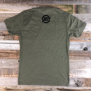 Original Freedom Crew Tee- Military Green